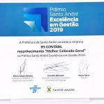 Premio.da.hs - Contabilidade em Santo André - SP   HS Contábil